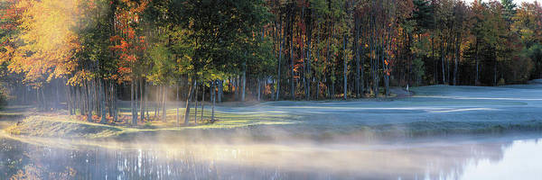 Wall Art - Photograph - Golf Course New England Usa by Panoramic Images
