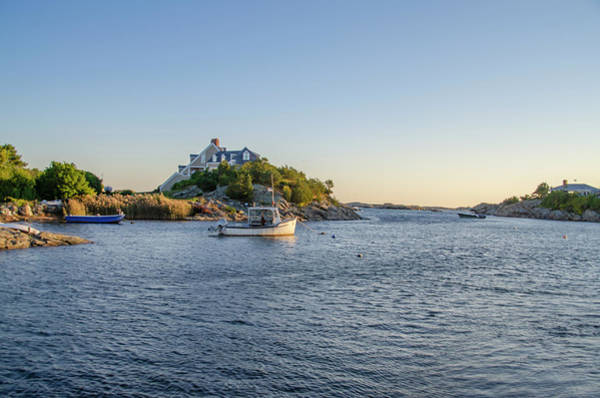 Photograph - Goose Neck Cove - Newport Rhode Island by Bill Cannon