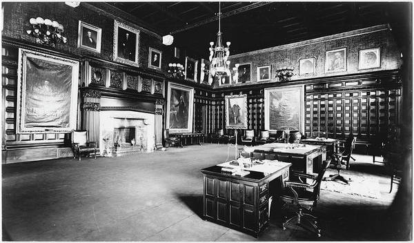Governor Photograph - Governors Office by The New York Historical Society