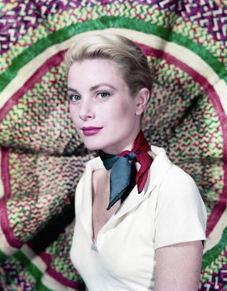 Photo Shoot Photograph - Grace Kelly by Archive Photos