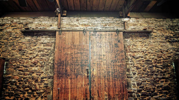 Photograph - Graffiti Door by George Taylor