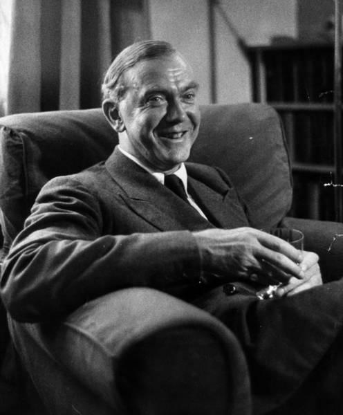 Scriptwriter Photograph - Graham Greene by Kurt Hutton
