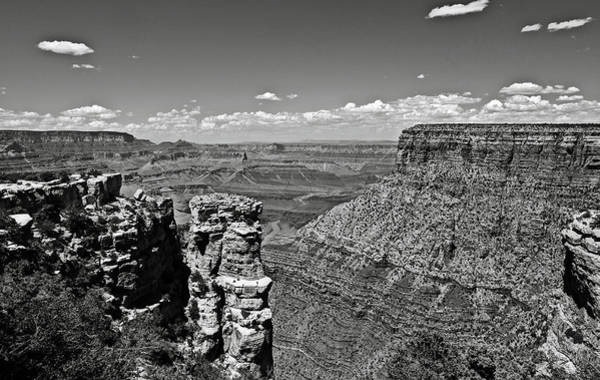 Photograph - Grand Canyon Bw by RicardMN Photography