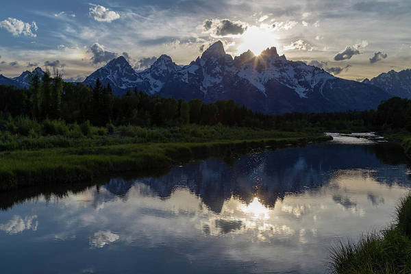 Photograph - Grand Teton Sunset by Michael Chatt