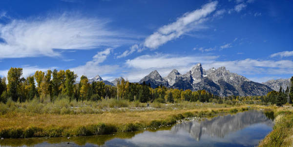 Photograph - Grand Tetons by Don and Bonnie Fink