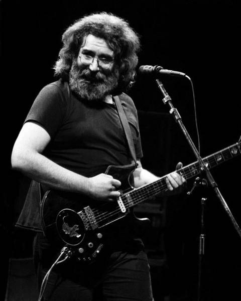 Jerry Garcia Photograph - Grateful Dead Live by Larry Hulst