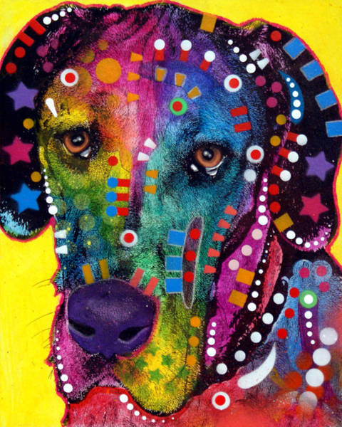 Wall Art - Painting - Great Dane by Dean Russo Art