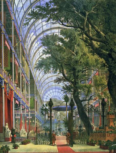 Exhibition Digital Art - Great Exhibition by Hulton Archive