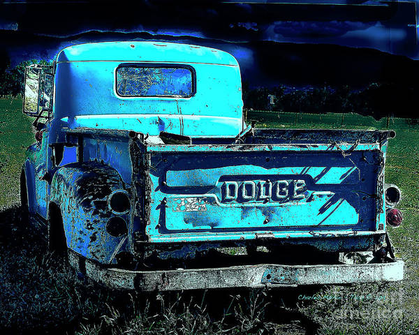 Photograph - Green Dodge by Charles Muhle