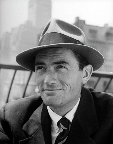 Photograph - Gregory Peck by Nina Leen