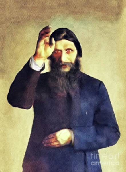 Wall Art - Painting - Grigori Rasputin by John Springfield