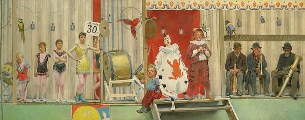 Wall Art - Painting - Grimaces And Misery, The Acrobats, 19th Century by Fernand Pelez