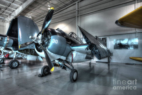 Ju 52 Wall Art - Photograph - Grumman - Fm-2 Wildcat by Greg Hager