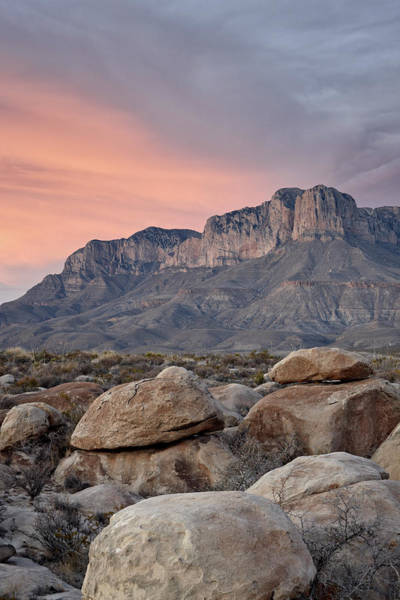 Gulf State Park Photograph - Guadalupe Peak And El Capitan At by James Hager / Robertharding