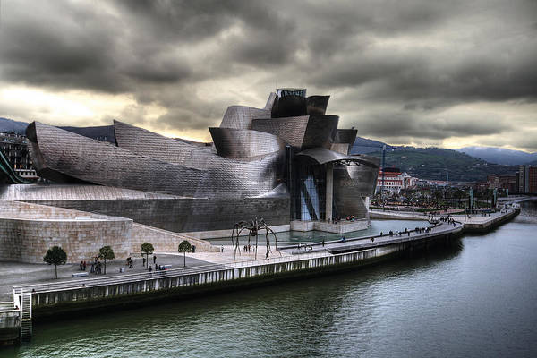 Photograph - Guggenheim Museum Bilbao by Gustavo's Photos