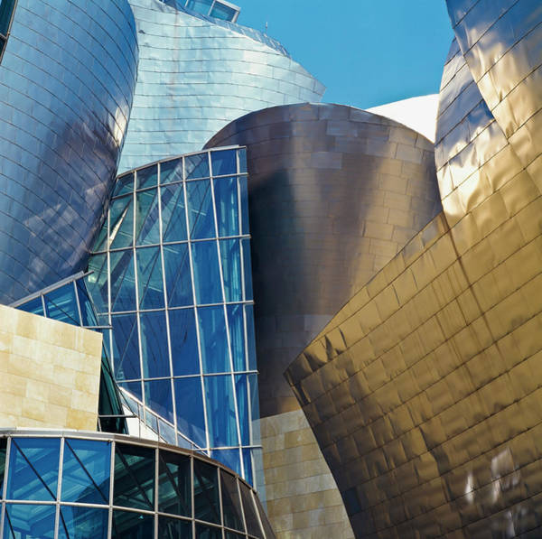 Frank Gehry Photograph - Guggenheim Museum Exterior by David Constantine