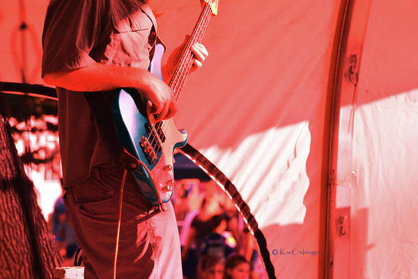Photograph - Guitarist On Stage 2 by Kae Cheatham