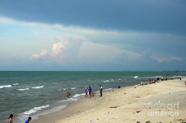 Photograph - Gulf Of Thailand Beach Beside Hatyai Pattani Highway Southern Thailand by Imran Ahmed