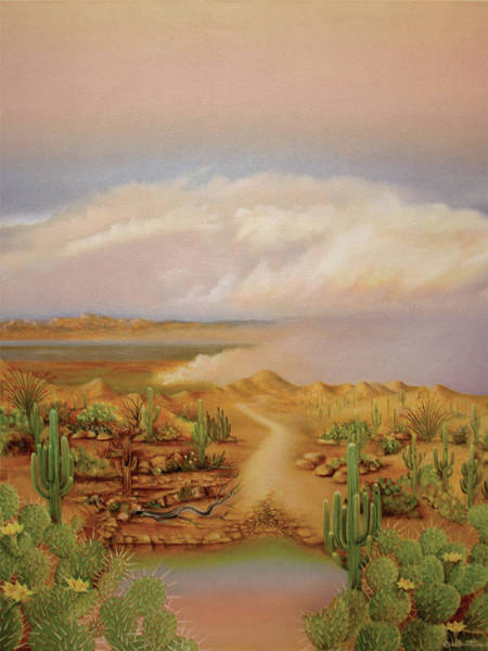 Painting - Haboob by William T Templeton