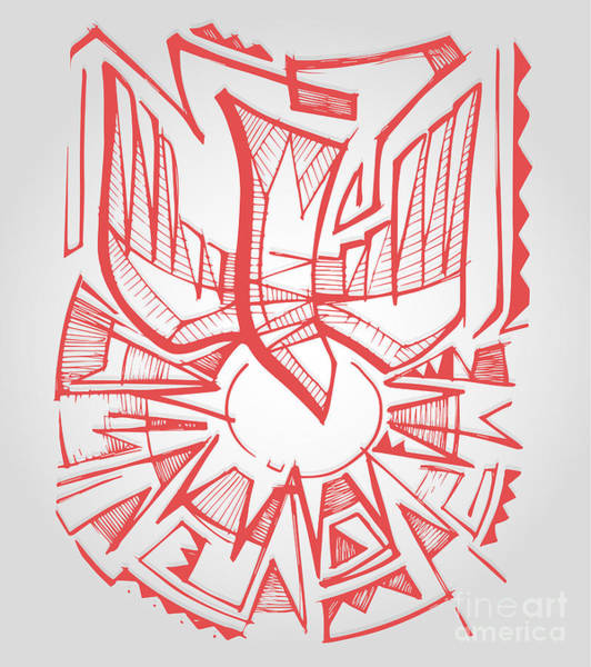 Wall Art - Digital Art - Hand Drawn Vector Illustration Or by Bernardo Ramonfaur