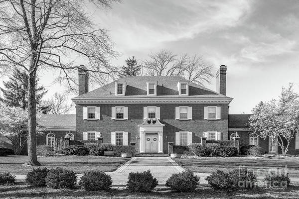 Photograph - Hanover College Presidents House by University Icons