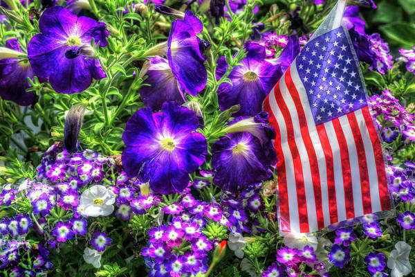 Photograph - Happy Independence Day 2 by Donna Kennedy