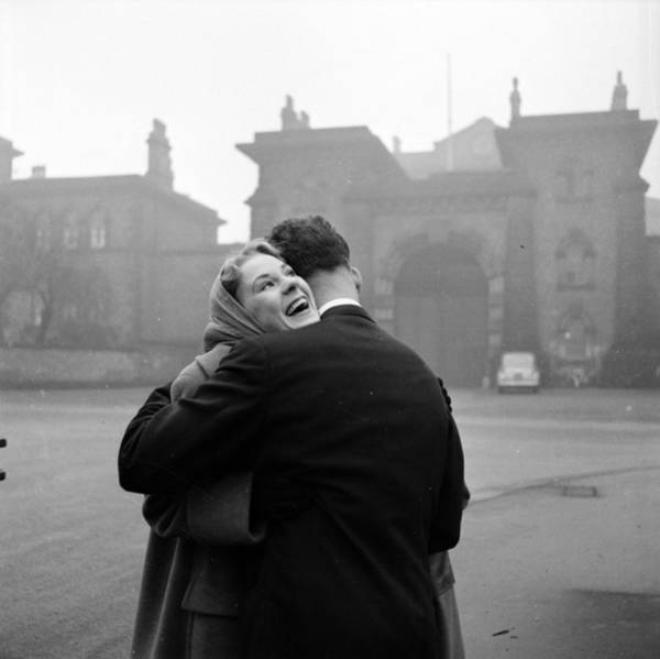 Husband Photograph - Happy Release by Bert Hardy