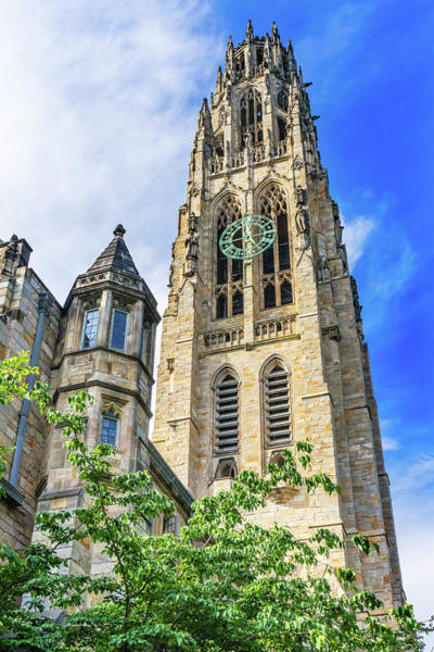 Wall Art - Photograph - Harkness Tower, Yale University, New by William Perry