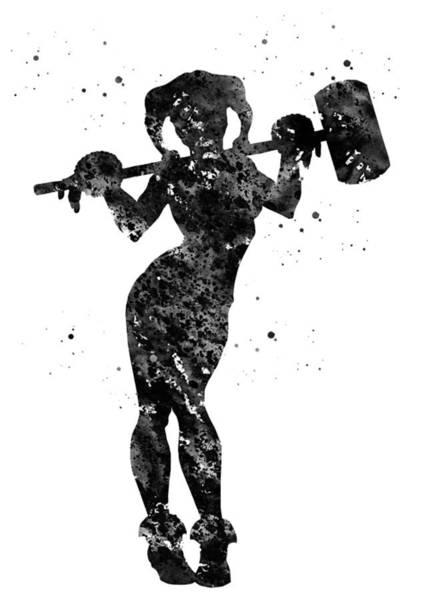 Harley Quinn Wall Art - Digital Art - Harley Quinn by Erzebet S