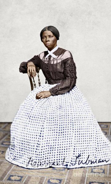 Wall Art - Photograph - Harriet Tubman by Granger