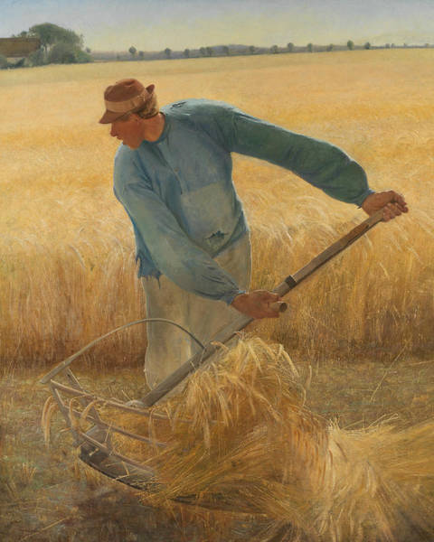 Painting - Harvest by Laurits Andersen Ring