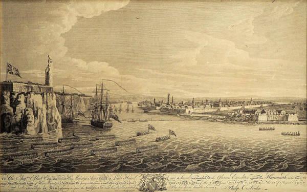 Photograph - Havana 1762 by Andrew Fare