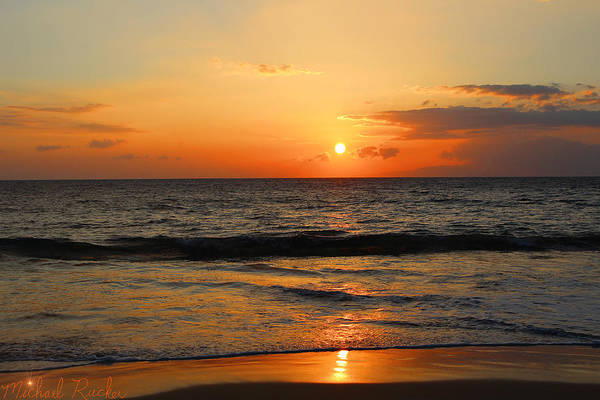 Ocean Wall Art - Photograph - Hawaiian Horizon by Michael Rucker