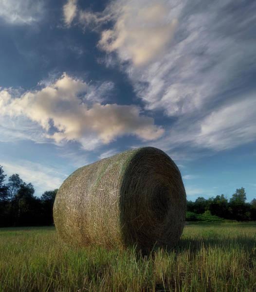 Hay Bale Wall Art - Photograph - Hay Bale 2 by Jerry LoFaro