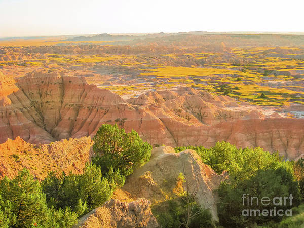 Photograph - Hay Butte Overlook At Badlands by Benny Marty