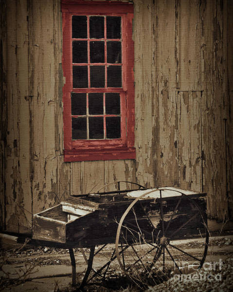 Digital Art - Hay Cart by Kirt Tisdale