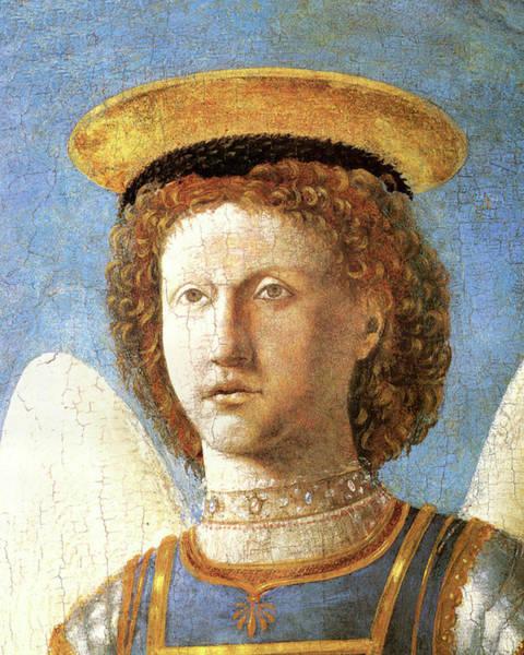 Painting - Head Of St. Michael by Piero della Francesco