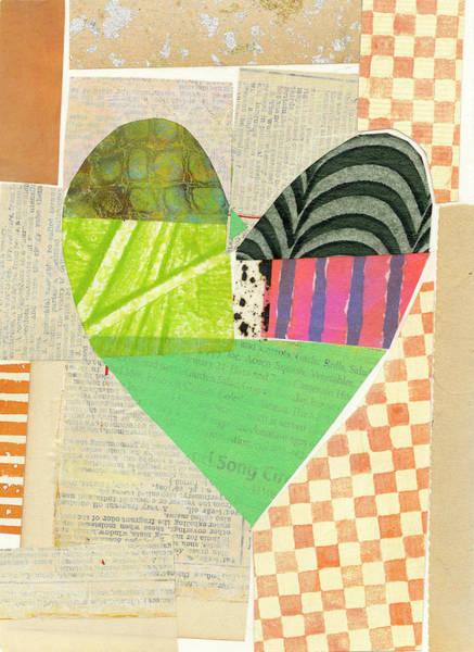 Wall Art - Painting - Heart #39 by Jane Davies