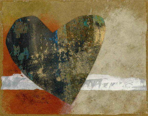 Wall Art - Mixed Media - Heart Collage 653 by Carol Leigh