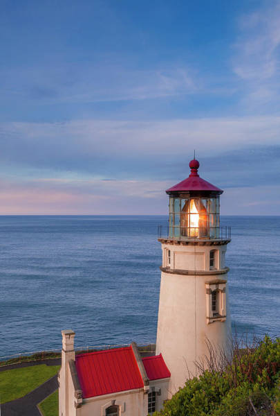 Wall Art - Photograph - Heceta Head Lighthouse by Andrew Soundarajan