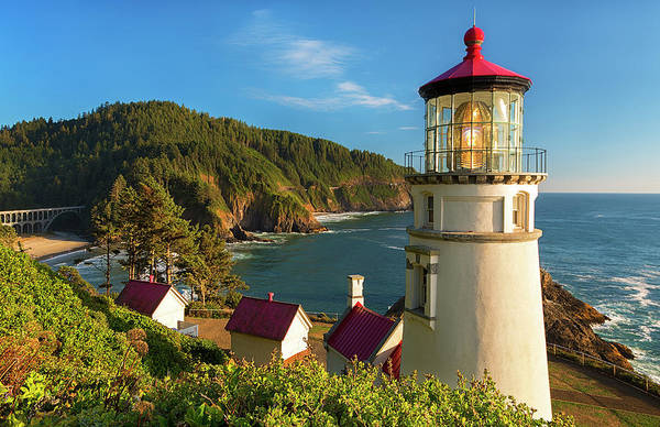 Wall Art - Photograph - Heceta Head Lighthouse by Patrick Campbell