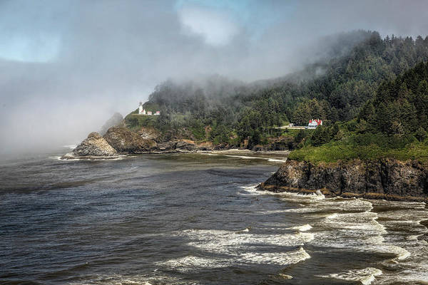 Photograph - Heceta Head Lighthouse by Wes and Dotty Weber