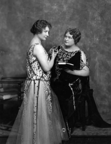 Evening Wear Photograph - Helen Keller by Hulton Archive