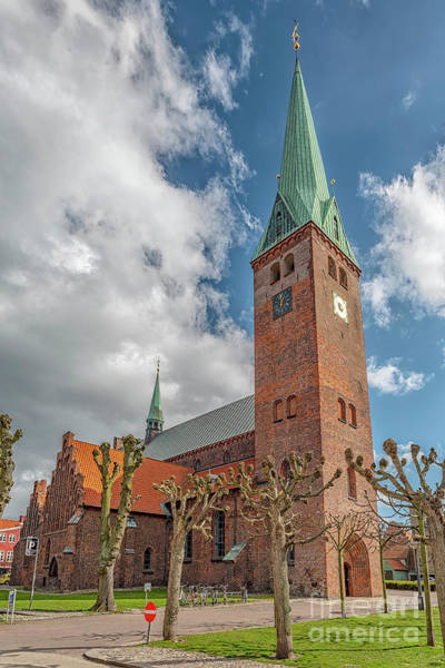 Wall Art - Photograph - Helsingor Saint Olaf Church by Antony McAulay