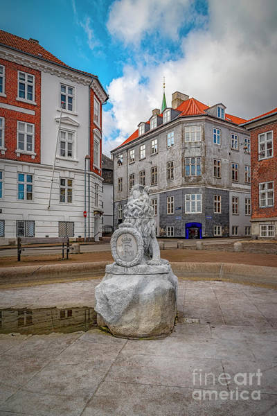Wall Art - Photograph - Helsingor Town Square by Antony McAulay