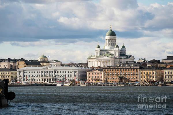 Photograph - Helsinki Skyline by Didier Marti