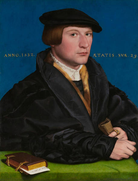 Wall Art - Painting - Hermann Von Wedigh IIi by Hans Holbein the Younger
