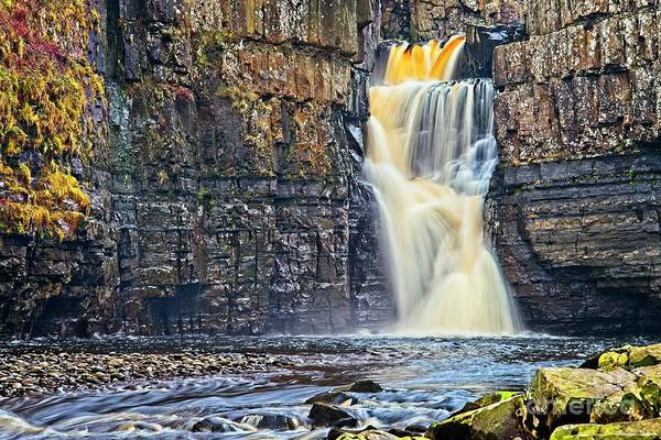 Photograph - High Force Waterfall by Martyn Arnold