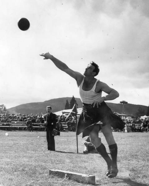 Braemar Photograph - Highland Games by Monty Fresco