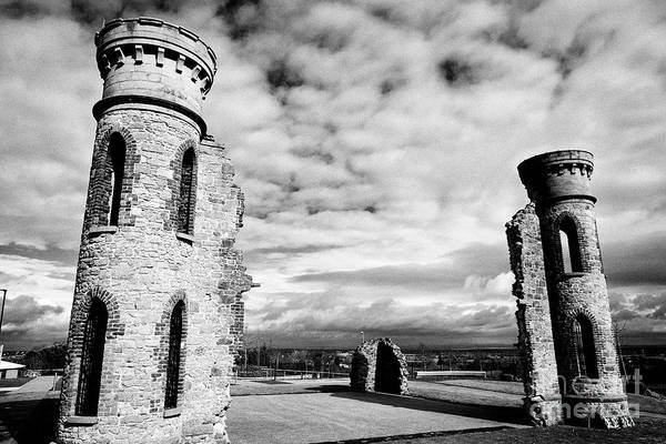 Wall Art - Photograph - Hill Of The Oneill Castle Hill Dungannon County Tyrone Northern Ireland Uk  by Joe Fox